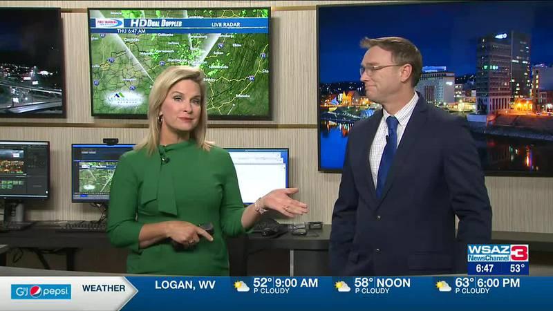 Brandon Butcher Delivers the First Warning Forecast for Thursday, September 23rd, 2021.