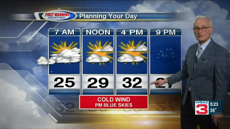Chief meteorologist Tony Cavalier says Old Man Winter is back and around to stay a while.