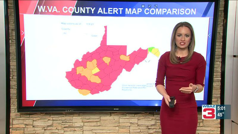 Looking at West Virginia's COVID-19 infection rate compared with past months