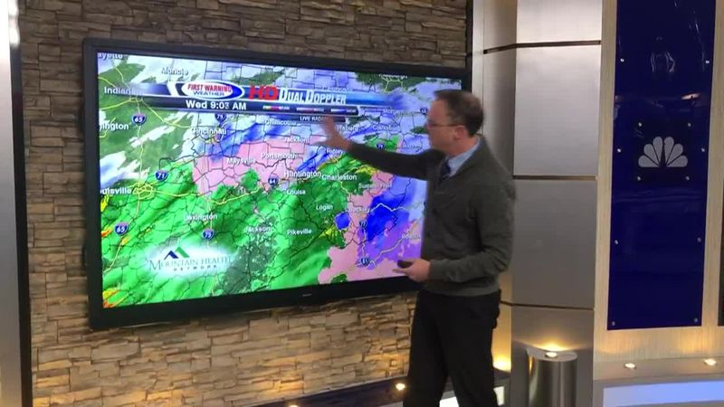 Meteorologist Brandon Butcher gives a winter weather update