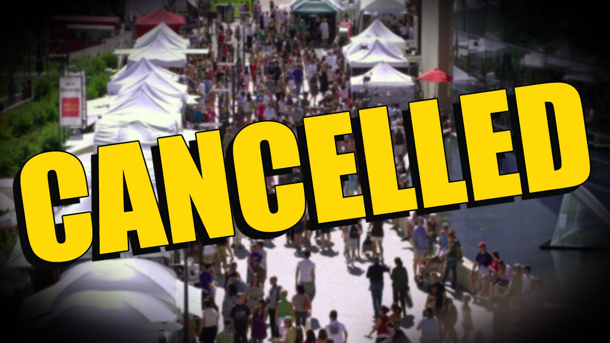 According to the KCCA, the Kanawha City Yard Sale, Kanawha City Vintage Flea Market, and Bike-A-Boo events are cancelled.