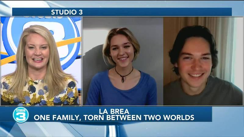'La Brea' actors on Studio 3