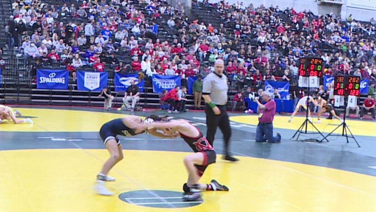 The WV State Wrestling Tournament Finals Begin Saturday Night