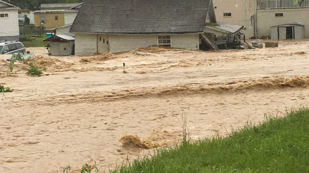 Viewer Ashley Reynolds sent us this photo from West Hamlin.