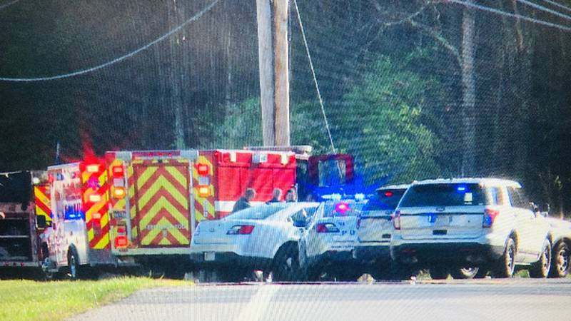 One person has died in a car crash Thursday morning.