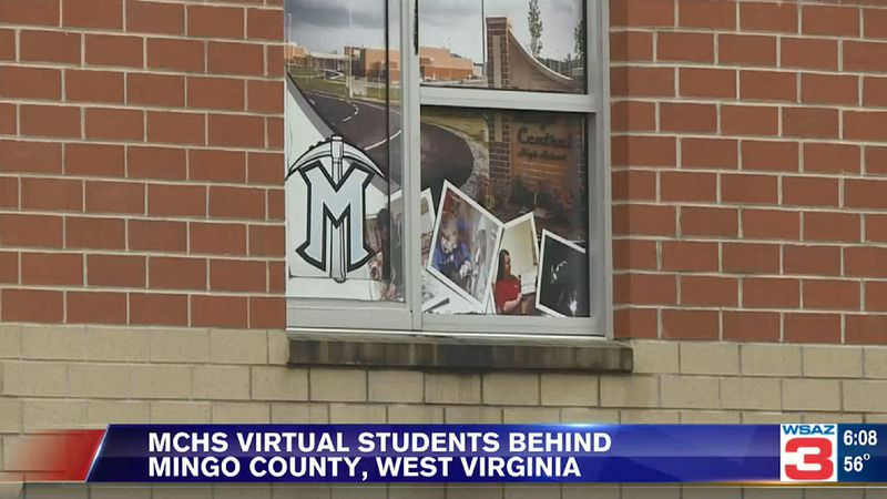 Mingo Central High School reports virtual students falling behind