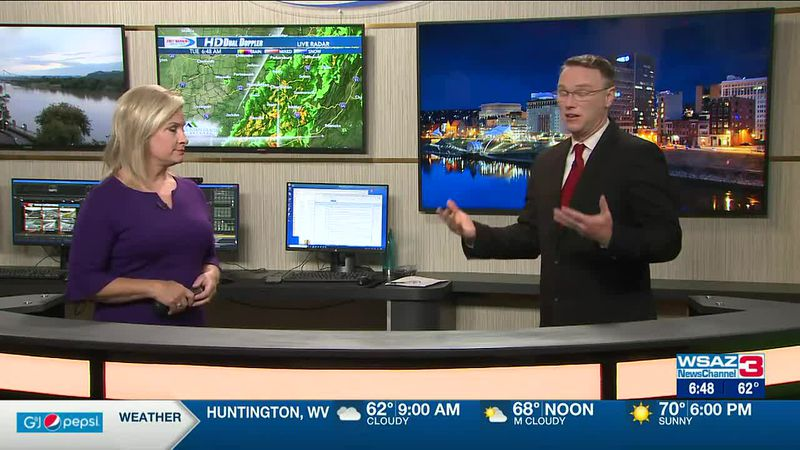 Brandon Butcher Delivers the First Warning Forecast for Tuesday, June 22nd, 2021.