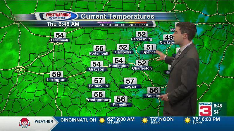 WSAZ Thursday Morning Forecast - Oct 22