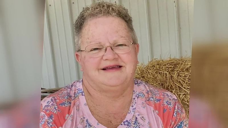 Debbie Burcham died eight days after contracting the virus.