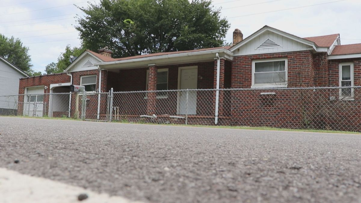Squatters found in home for sale in Charleston, West Virginia.