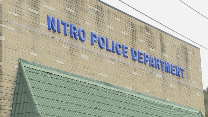 The Nitro Police Department (WSAZ Staff Photo/Chaelesse Delpleche)