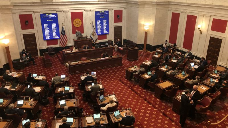 Right now, the senate's version of the bill would increase the sales tax rate to 2.5 percent,...
