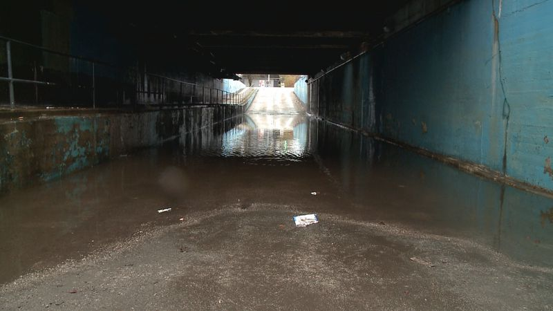 Work is coming to two underpasses in Huntington that battle chronic flooding.