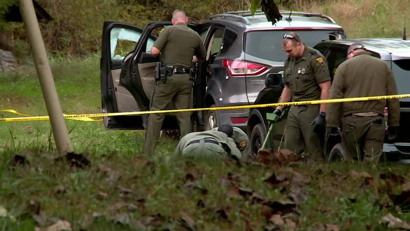 Deputies say a chase ended with Shawn Dempsey shooting at officers, who returned fire and...