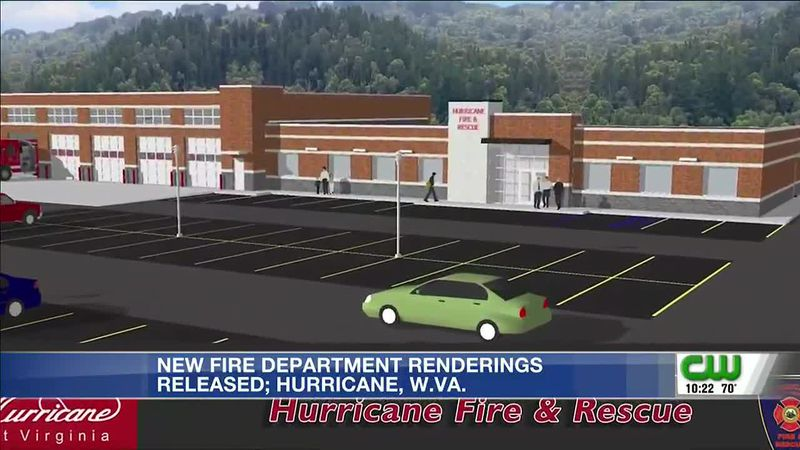 Artistic renderings released for new Hurricane Fire Department