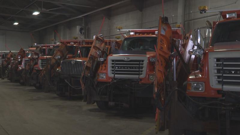Snowplows and salt trucks not needed just yet