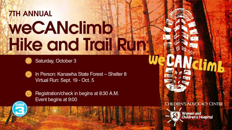 7th Annual We Can Climb and Hike Run Kanawha State Forest