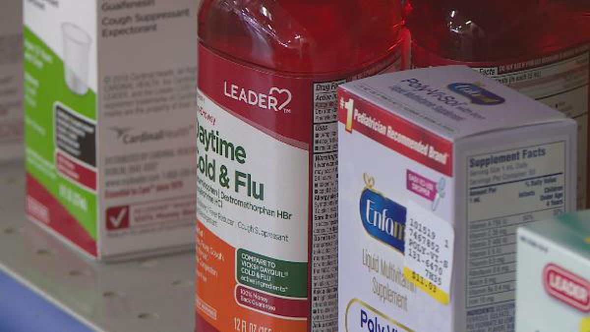 Cold and flu products like hand sanitizer and masks are in high demand.