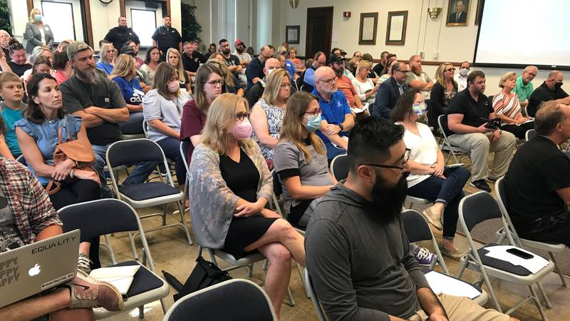 The Cabell County School Board voted 3-2 to not require masks in schools.
