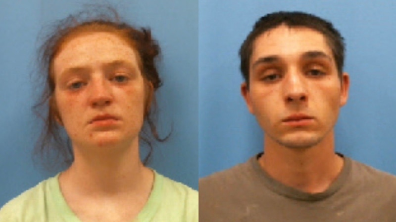 Brandi Michelle Burks (left) and Dakota Heath Fowler (right) face criminal charges after their...