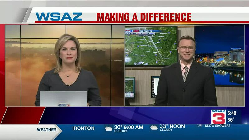 Brandon Butcher Delivers the First Warning Forecast for Wednesday, January 27th, 2021.