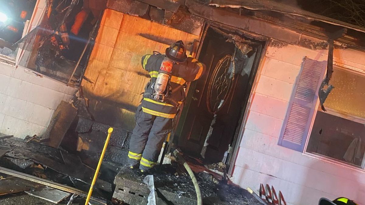 Fire seriously damaged a home Friday night along Jeanette Drive in Poca, West Virginia.
