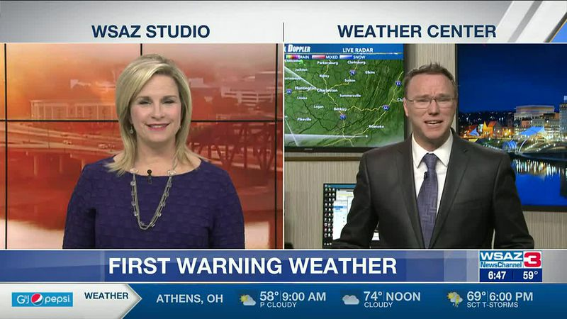 Brandon Butcher Delivers the First Warning Forecast for Thursday, April 8th, 2021.