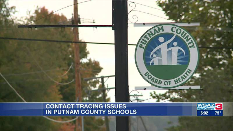 Contact tracing issues in Putnam County Schools