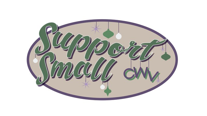 "The campaign is called ""Support Small CWV."" The holiday campaign is meant to promote small..."