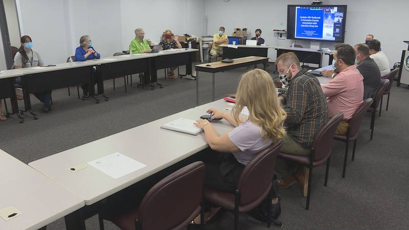 The Kanawha-Charleston Health Department HIV Task Force received a status update Tuesday...