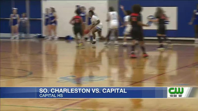 Girls' teams square off in WV sectional hoops action