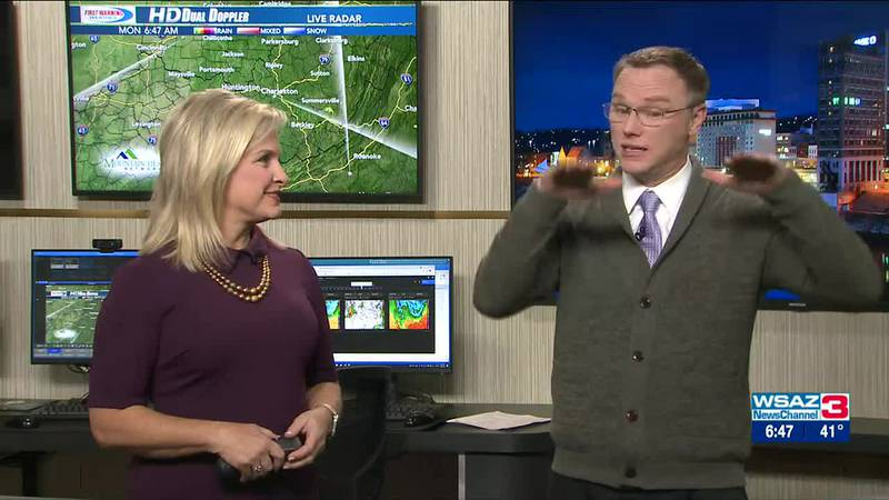 Brandon Butcher Delivers the First Warning Forecast for Monday, October 18th, 2021.