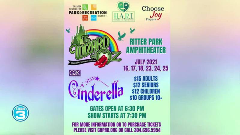 Cinderella & Wizard of Oz with Hart in the Park