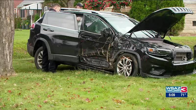 Driver hits tree, police find drug paraphernalia inside vehicle