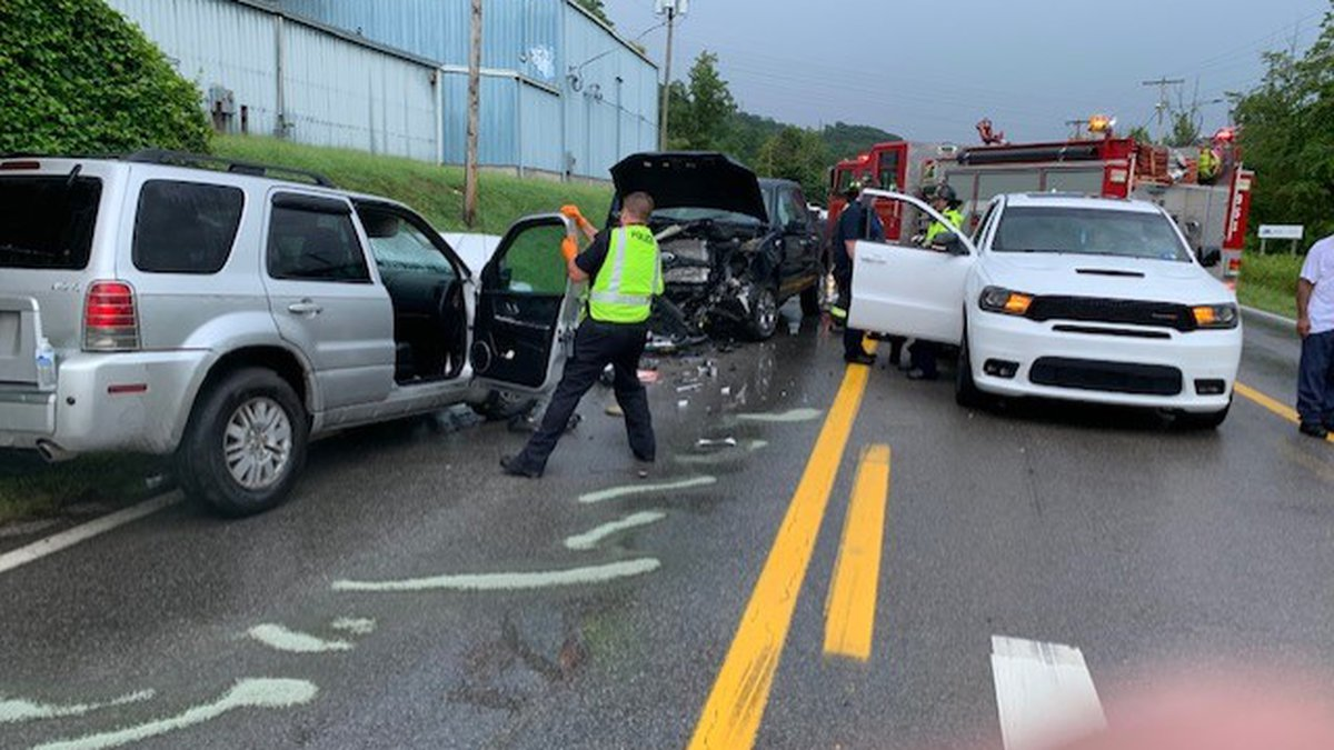 Nitro Fire Department, along with St. Albans Fire Department responded to a head-on collision...