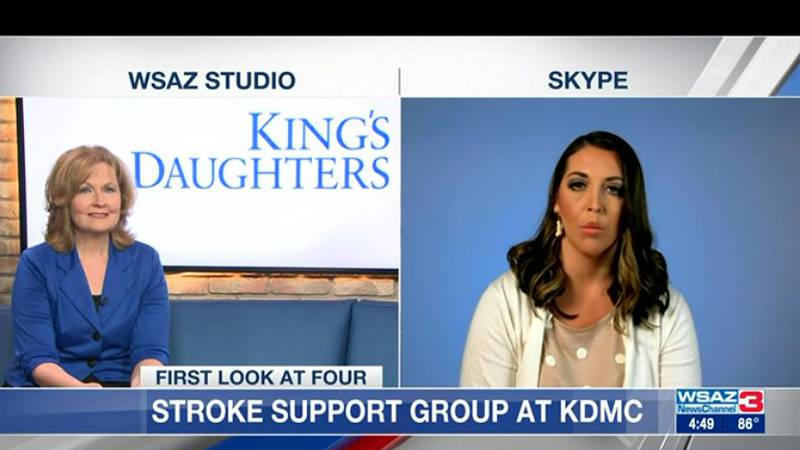 Brittany Mabery, a stroke nurse navigator from King's Daughters Medical Center, shares how...