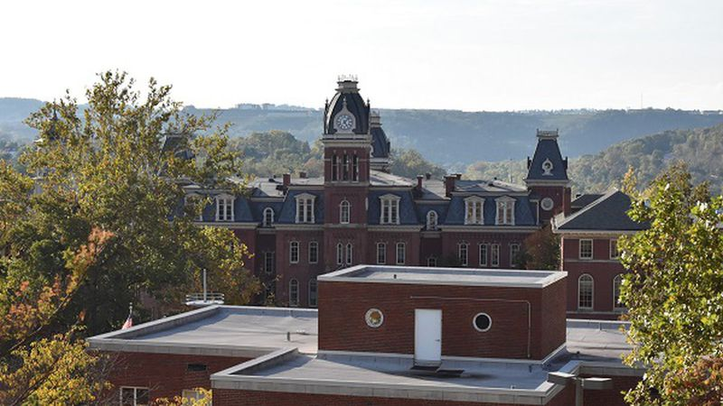 West Virginia University officials saw a slight increase in positive COVID-19 case counts among...
