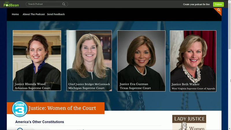 Lady Justice: Women of the Court podcast