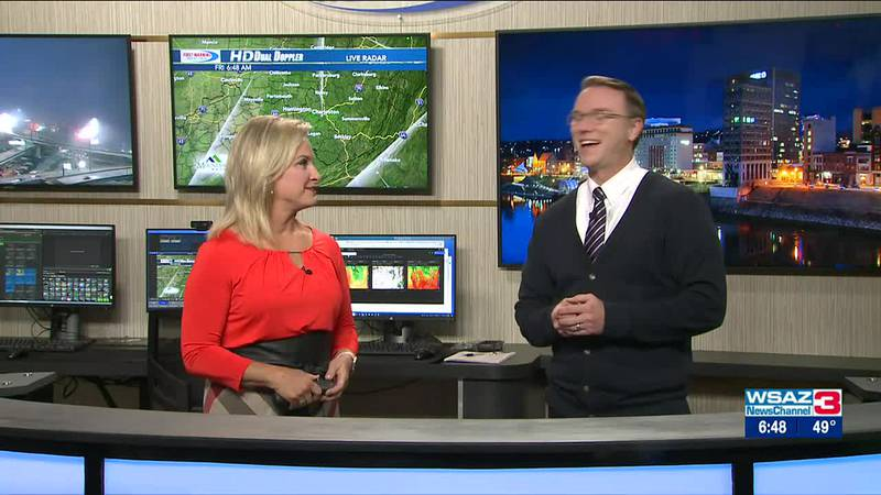 Brandon Butcher Delivers the First Warning Forecast for Friday, September 24th, 2021.
