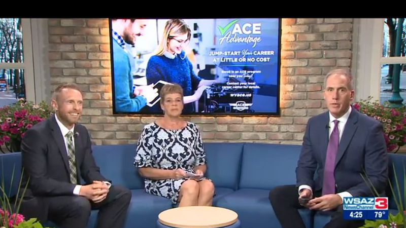 Adam Canter, Director of Advanced Career Education (ACE), and Mendy Marshall, Director of Adult...