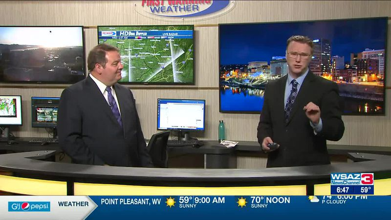 Brandon Butcher Delivers the First Warning Forecast for Wednesday, June 16th, 2021.