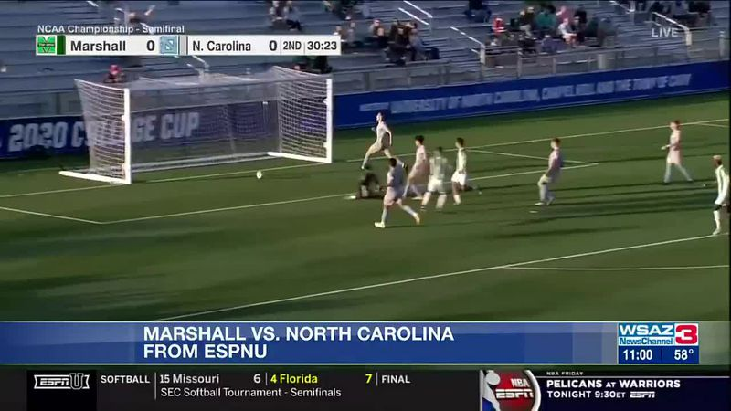 Herd advances to NCAA championship soccer game