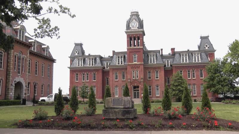 WVU's historic Woodburn Hall