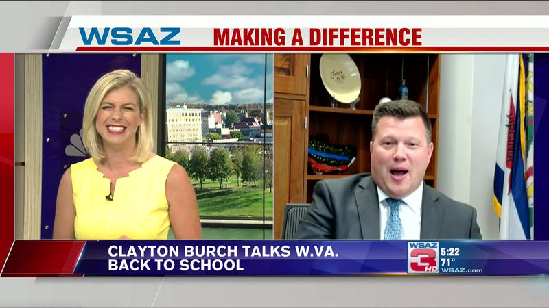 W.Va. Superintendent of Schools Clayton Burch joins Amanda Barren on First at 5 to discuss...