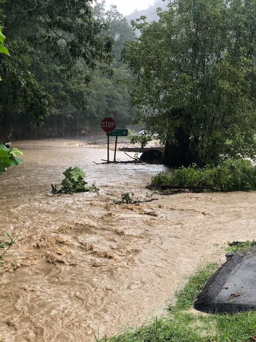 Lincoln County saw some high waters Monday afternoon.