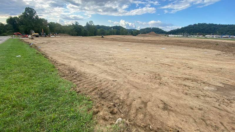 Putnam County officials say this construction site across from Teays Valley Cinemas will be...
