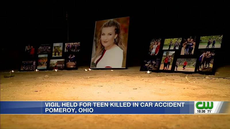 Friends/family remember Abby Justus at candlelight vigil