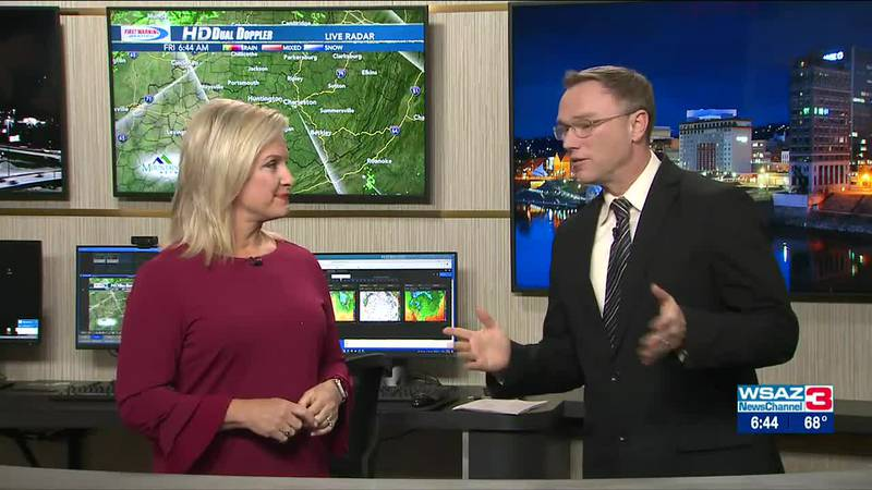 Brandon Butcher Delivers the First Warning Forecast for Friday, October 15th, 2021.