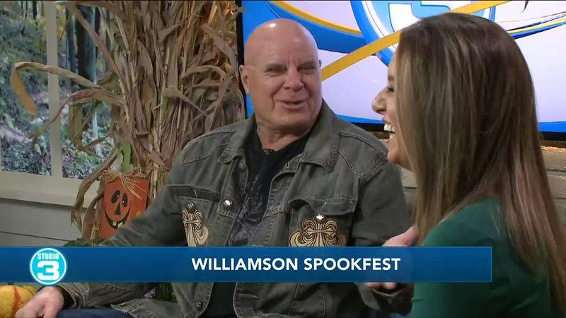 Tony Moran at Williamson Spookfest this weekend