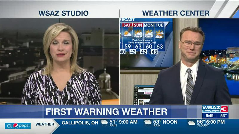 Brandon Butcher Delivers the First Warning Forecast for Wednesday, April 14th, 2021.